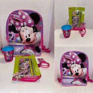 NWT Minnie Mousse Set for 4 pieces new